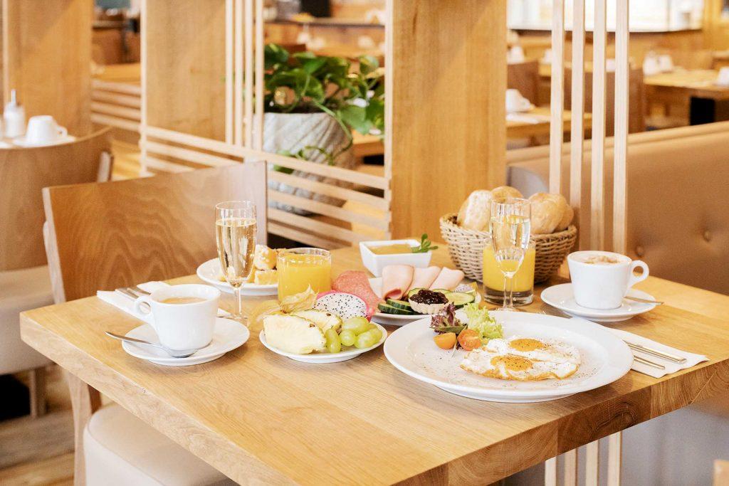 Hotel Ahornhof Frühstück