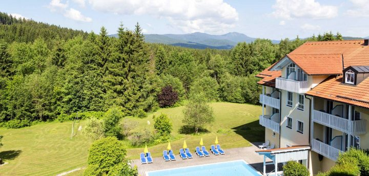 Hotel Ahornhof Landschaft